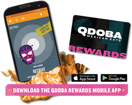 Qdoba West Virginia catering rewards program and discounts