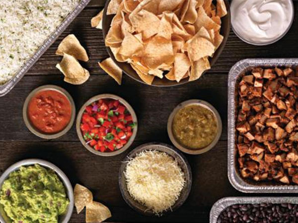 Qdoba West Virginia Catering Menu and Prices