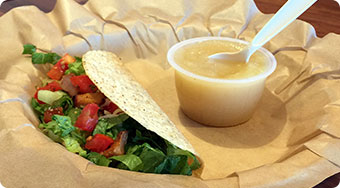 Qdoba Mexican Food West Virginia - Kids Taco Meal