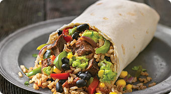 Qdoba Mexican Food West Virginia - Burritos
