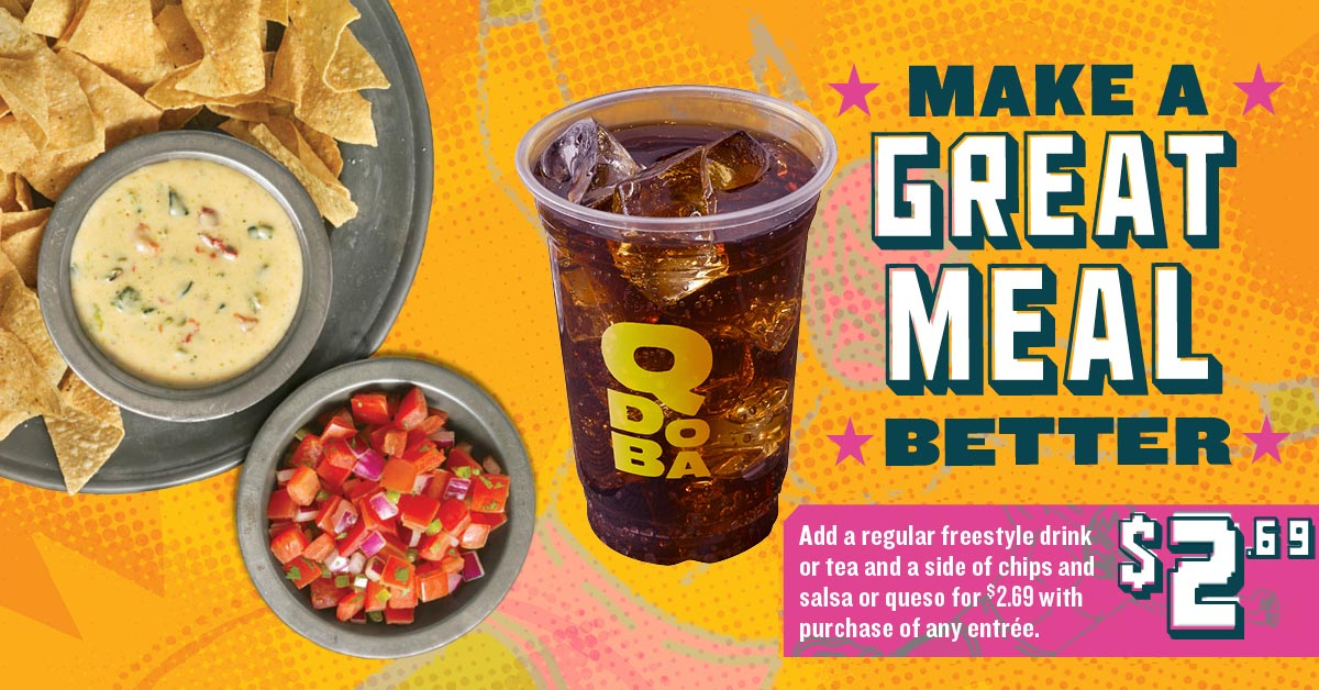 Qdoba Meal Deal Offer at West Virginia