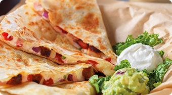 Qdoba Mexican Food West Virginia - Quesadillas